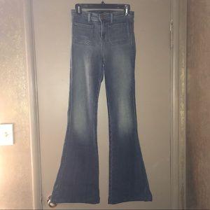 J Brand Demi Flare Jeans Ashbury Wash 26